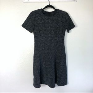 Ann Taylor Short Sleeve Fit & Flare Dress Size 2P